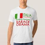 ITALIA CELEBRARE Obama Giorno di Inaugurazione Remera