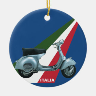 Italia Ceramic Ornament