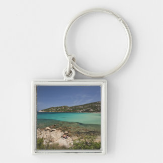 Italia, Cerdeña, Baja Cerdeña. Playa del centro tu Llavero Personalizado