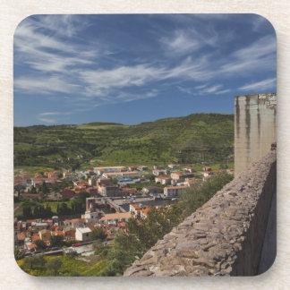 Italia, Cerdeña, Bosa. Opinión de la ciudad de Cas Posavasos