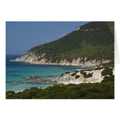 Italia, Cerdeña, Solanas. Playa Tarjeta