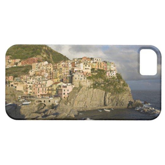 Italia, Cinque Terre, Manarola. Pueblo en el Funda Para iPhone SE/5/5s