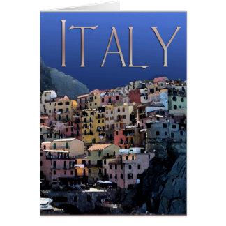 Italia - Cinque Terre Tarjeton
