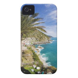 Italia, Cinque Terre, Vernazza, ciudad de la iPhone 4 Carcasa