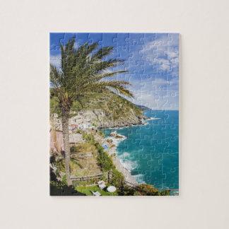 Italia, Cinque Terre, Vernazza, ciudad de la lader Rompecabeza