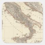 Italia, citerior de Gallia, Illyricum, Sicilia Pegatina Cuadrada