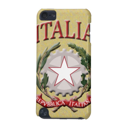 Italia Coat of Arms iPod Touch (5th Generation) Case