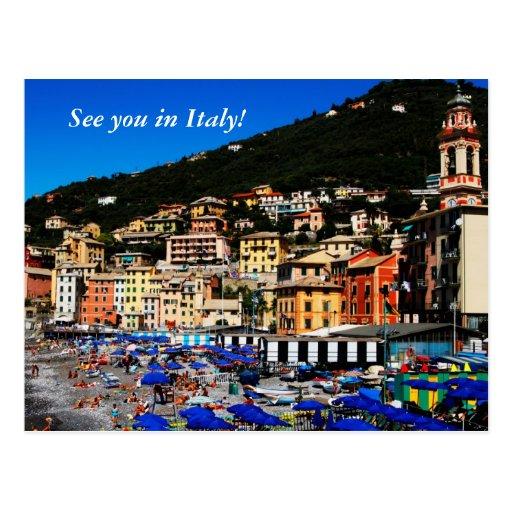 Italia colorida tarjetas postales