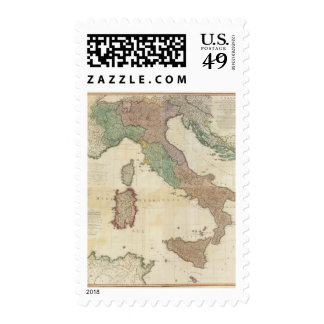 Italia compuesta 2 franqueo