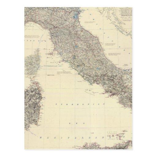Italia compuesta 3 postales
