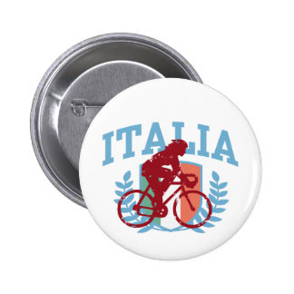 Italia Cycling (female) Pinback Buttons