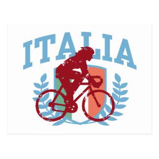 Italia Cycling (female) Postcard