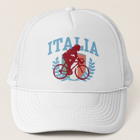 Italia Cycling (female) Trucker Hat