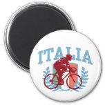 Italia Cycling (male) Fridge Magnets