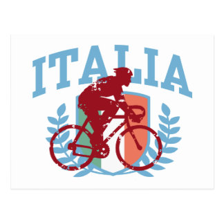 Italia Cycling (male) Postcard