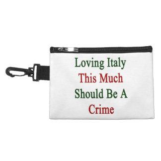 Italia de amor esta mucho debe ser un crimen