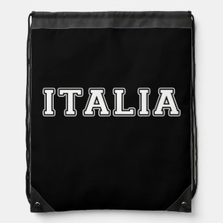 Italia Drawstring Backpack