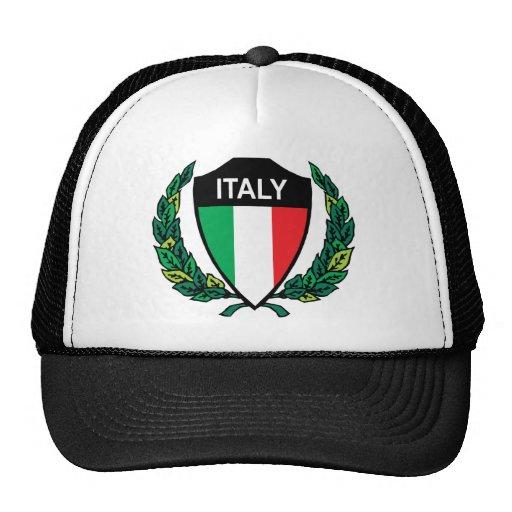 Italia elegante gorro de camionero