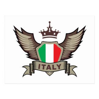 Italia elegante tarjetas postales