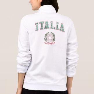 Italia + Emblema de Italia Chaqueta Imprimida