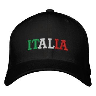 Italia Embroidered Baseball Cap