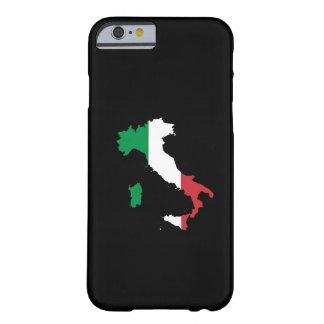 Italia en colores de la bandera funda de iPhone 6 barely there