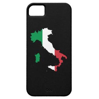 Italia en colores de la bandera iPhone 5 fundas