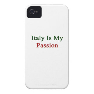 Italia es mi pasión iPhone 4 Case-Mate protector