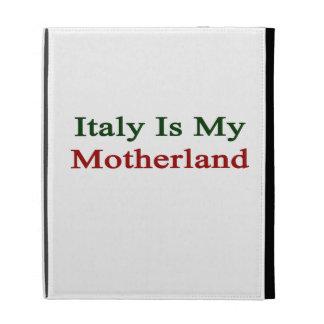 Italia es mi patria