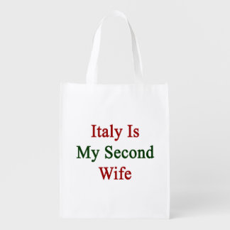 Italia es mi segunda esposa bolsas de la compra