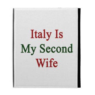 Italia es mi segunda esposa