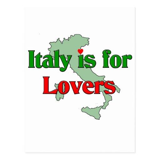 Italia está para los amantes postales