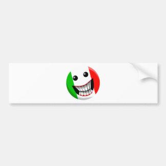 Italia Etiqueta De Parachoque
