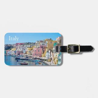 Italia - etiqueta del equipaje etiquetas para equipaje