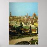 Italia, Firenze, panorama de la ciudad Impresiones