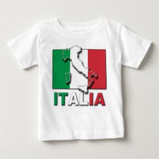 Italia Flag Land Baby T-Shirt