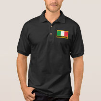 Italia Flag Polo Shirt