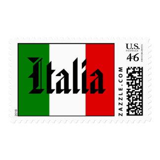 Italia Flag Postage