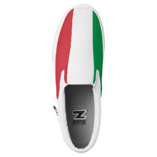 Italia Flag Slip-On Sneakers