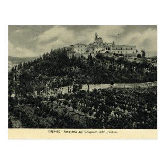 Italia, Florencia, Firenze, 1908, convento del per Postales