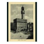 Italia, Florencia, Firenze, 1908, Palazzo Vecchio Postales