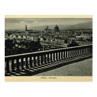 Italia, Florencia, Firenze, 1908, Piazzale Postales