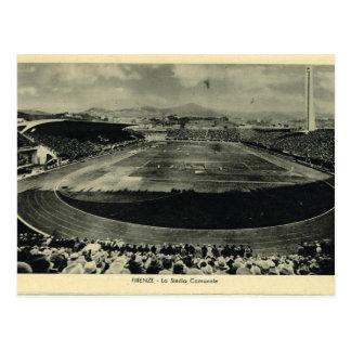 Italia, Florencia, Firenze, 1908, Stadio Communale Postal