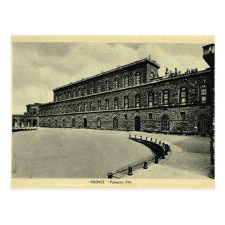 Italia, Florencia, Firenze, Palazzo Pitti 1908 Postal