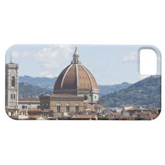 Italia, Florencia, paisaje urbano con el Duomo iPhone 5 Carcasas