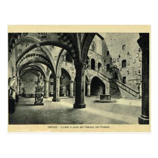 Italia, Florencia, Palazzo Podessia Postal