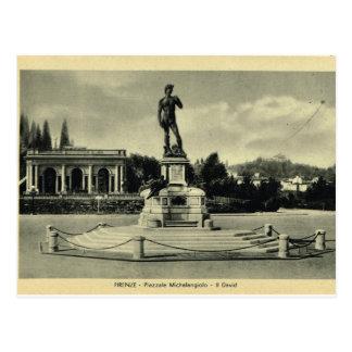 Italia, Florencia, Piazzale Miguel Ángel, David Postal