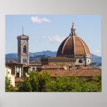 Italia, Florencia, vista de la catedral de Florenc Posters