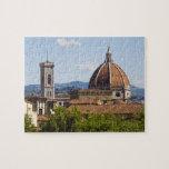 Italia, Florencia, vista de la catedral de Florenc Puzzle Con Fotos