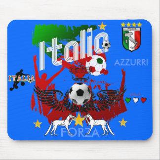 Italia Forza Azzurri Mousepad for Italian fans